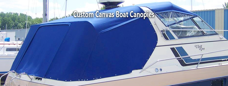 San Diego Boat Upholstery Custom Boat Canopies
