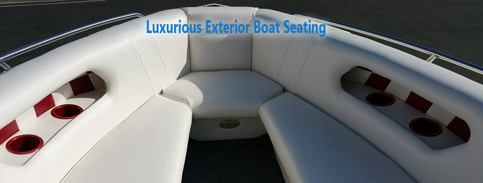 San Diego Boat Upholstery Exterior Boat Seats
